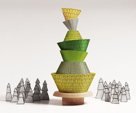 PineStack - Stacking toy | What's new in Industrial Design? | Scoop.it