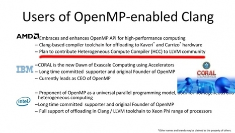 AMD Plans To Contribute Heterogeneous Compute Compiler - Phoronix | opencl, opengl, webcl, webgl | Scoop.it