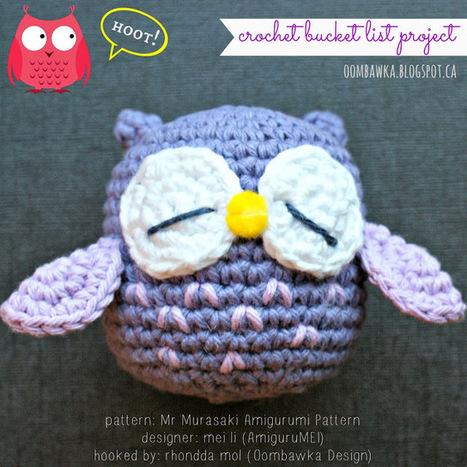 Mr. Murasaki - AmiguruMEI - A Crochet Bucket List Project | Crochet | Scoop.it