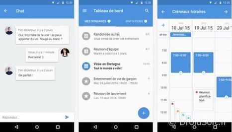 Doodle arrive sur Android pour organiser vos activités | Going social | Scoop.it