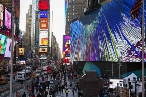 Mitsubishi Electric's 4K Display, World's Largest, Lights Up New York - Wall Street Journal (blog) | 4k, 8k, 3D | Scoop.it