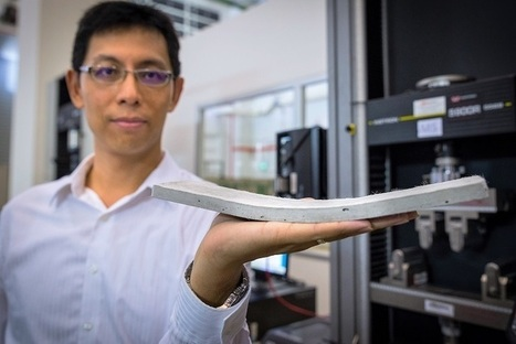 NTU Singapore Researchers Develop Flexible Concrete that Resists Cracking | Research Administration | Scoop.it