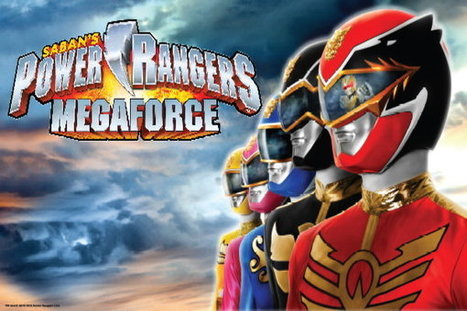 Power Rangers Megaforce | Daikaiju | Scoop.it