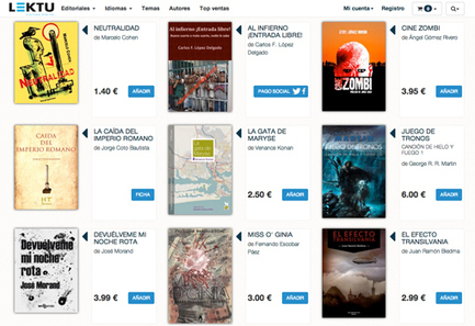 Lektu, ebooks baratos y sin escudo anticopia | Librerías de futuro | Scoop.it