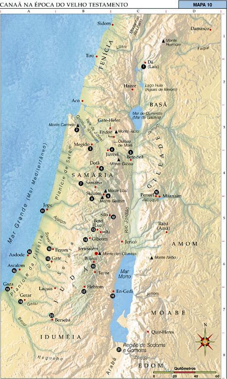 O Grande Diálogo: GEOGRAFIA DO ANTIGO TESTAMENTO ... | História e geografia do mundo | Scoop.it