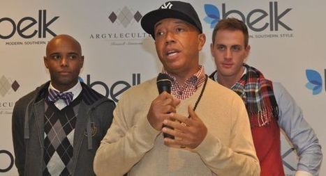 Russell Simmons unveils clothing line at Belk | Russell Simmons at Belk | Scoop.it