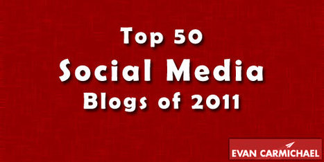 Top 50 Social Media Blogs of 2011 | The 21st Century | Scoop.it