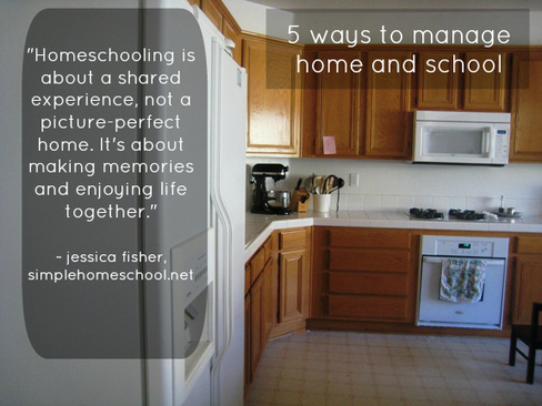 5 ways to manage home and school