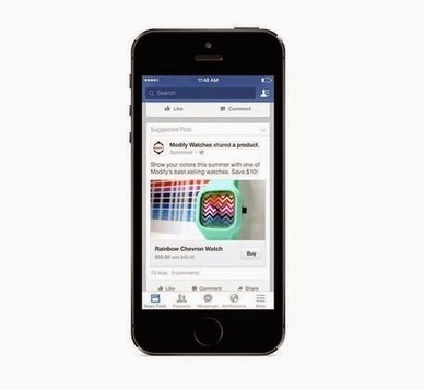 "Facebook si lancia sul ""clicca e compra"". Con un tasto 