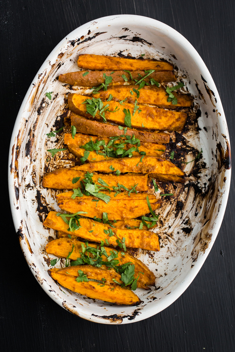 Tandoori Sweet Potatoes | Natural Recipes | Scoop.it