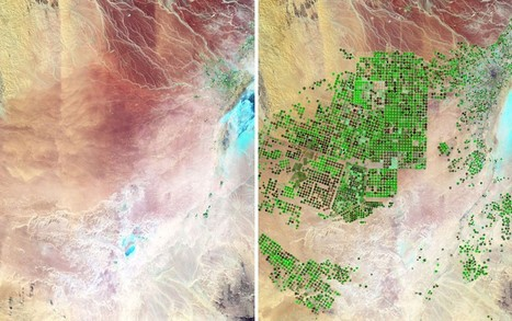 Satellite images show how human expansion has changed the face of the earth - Telegraph | Climate Chaos News | Scoop.it