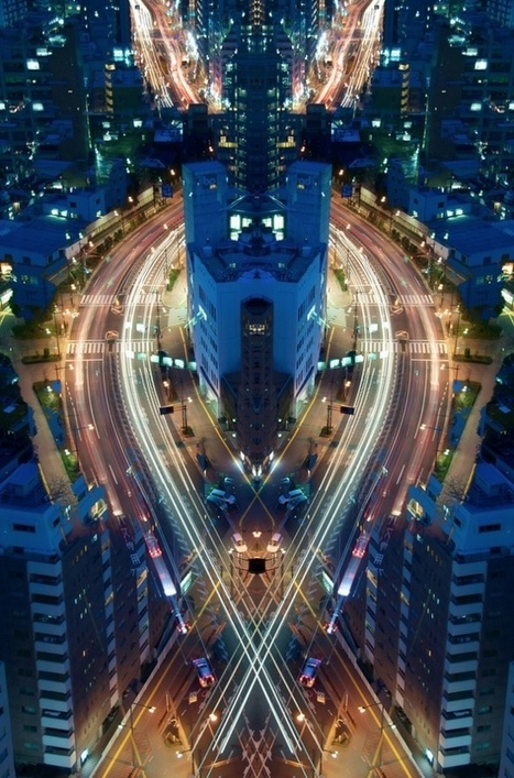 Tokyo Cityscapes by Shinichi Higashi | Graduate Student in Art Education | Scoop.it