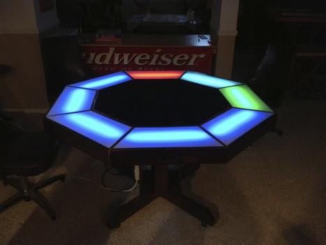 Arduino Powered Poker Table   Raspberry Pi   Scoop.it