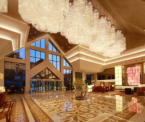 11 Lobbies with Standout Style   What Surrounds You   Scoop.it