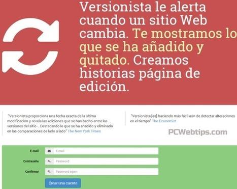 5 Herramientas Monitorear Cambios en Páginas Web (Contenido) | PLE  NUBE DE PALABRAS | Scoop.it
