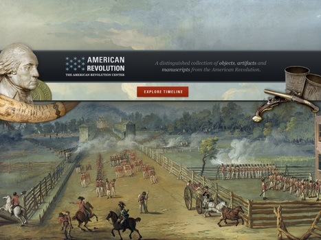 Top American History App a Great Teaching Tool | Tech Learning | Edtech PK-12 | Scoop.it