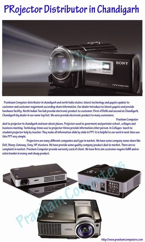 CCTV Camera AMC Services Chandigarh : How to Distribute Projector in Chandigarh?   Projector Dealers in Chandigarh - Prasham Computer   Scoop.it