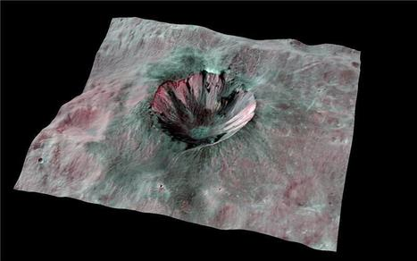 Carbon in Vesta's craters: Asteroid may have brought carbon to Earth and inner solar system | Amazing Science | Scoop.it