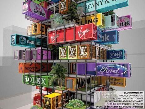 Radical new hotel design looks like giant game of Jenga - Fox News | Architecture | Scoop.it