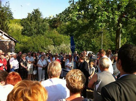 Le Blog de Rouen, photo et vidéo: Hier, inauguration de l'esplanade Jean-Pierre Engelhard   MaisonNet   Scoop.it