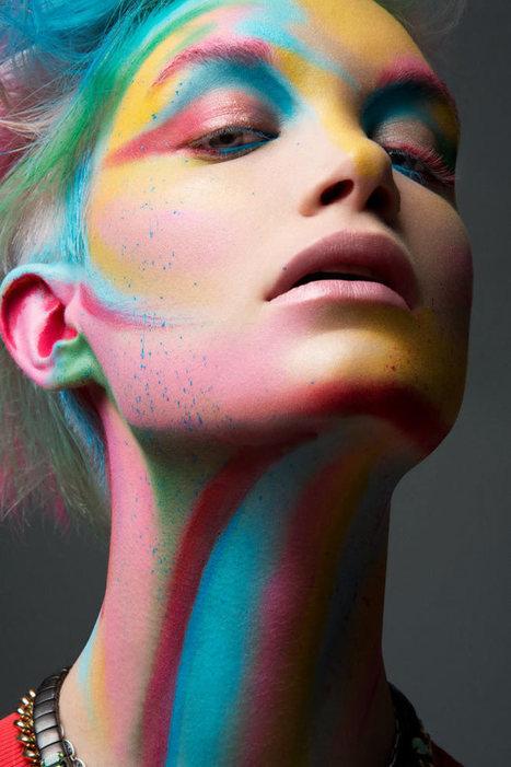 Jeff Tse Captures Colorful Beauty | Hair beauty make up | Scoop.it