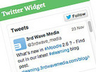 How to add a Twitter timeline widget to Moodle after June 2013 - E-Learning & E-Training Solutions - 3rd Wave Media | MoodleUK | Scoop.it