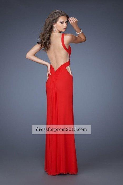 Red Two Shoulder Side Split Open Back Prom Gown [Side Split Open Back Prom Gown] - $175.00 : 2015 Hot Sale Dresses | Prom Dresses Discount | Prom Dresses 2015 | girlsdresseshop | Scoop.it