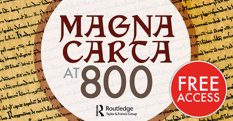 Magna Carta at 800 | Explore Taylor & Francis Online | Beyond the Stacks | Scoop.it