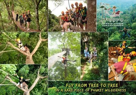 Flying Hanuman, Activities in Phuket | Phuket Thailand Travel | Scoop.it