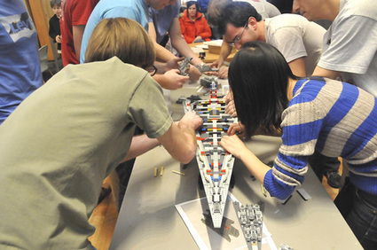 Williams College math class misses LEGOS goal, but learns from experience - Berkshire Eagle | Heron | Scoop.it