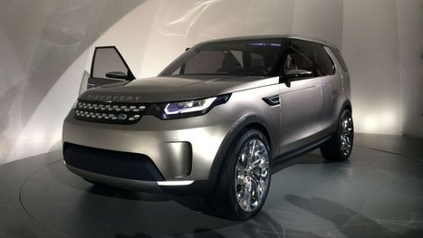 Land Rover reveals vision for super-smart robo-SUVs within 10 years | augmented reality examples | Scoop.it