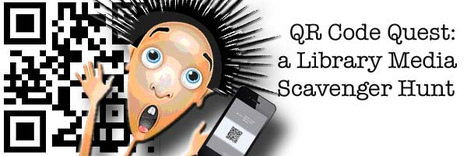 QR Code Quest: a Library Scavenger Hunt | Learning & QR Codes | Scoop.it