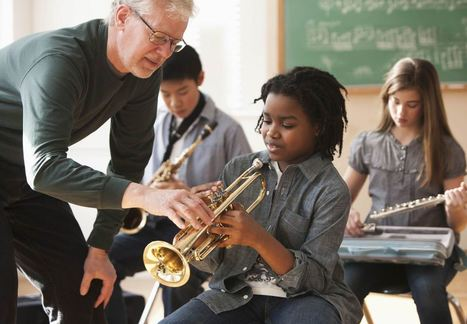 Actively learning to play an instrument can help a child's academic achievement | Education Zone | Scoop.it
