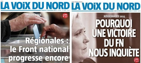 Régionales: Marine Le Pen en conflit ouvert avec La Voix du Nord | DocPresseESJ | Scoop.it