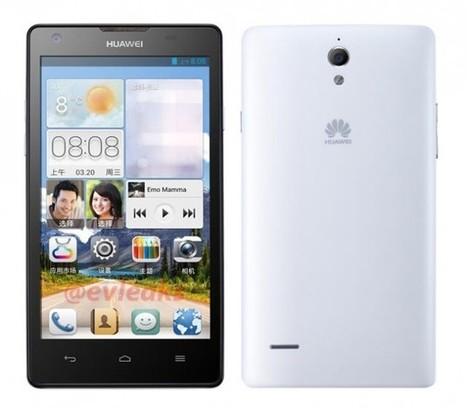 Ascend G700 : premières fuites du nouveaux smartphone 5 pouces de Huawei   Geeks   Scoop.it