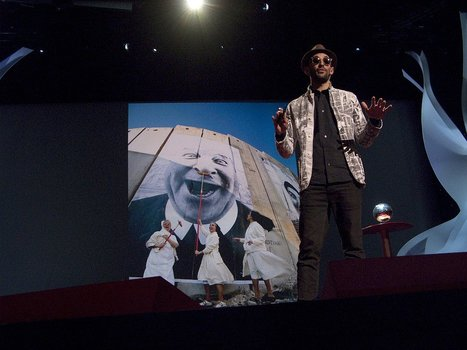 Street Art (collage) - JR Artist - TED Talk 2011 - Video with French Subtitles | Ateliers créativité (AFB) | Scoop.it