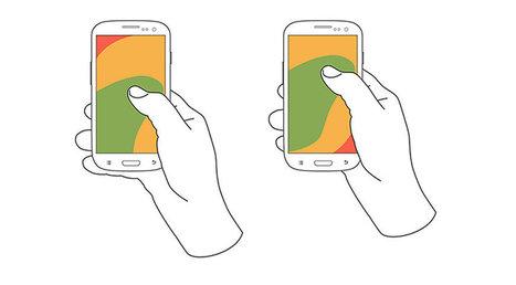 Ubicando menús de navegación en dispositivos móviles | El Mundo del Diseño Gráfico | Scoop.it