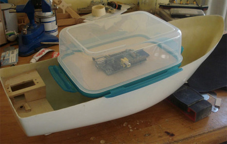 FishPi sets course for the open sea, captained by a Raspberry Pi   Raspberry Pi   Scoop.it