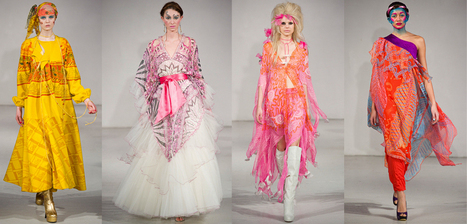 FASHION156 / Collections / Zandra Rhodes – Paris Fashion Week AW12 Womenswear | getting inspired by | Scoop.it