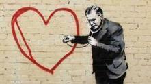 Banksy affiche sa Saint-Valentin | Arty Brain | Scoop.it