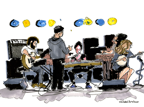 A World Of Live Music, Captured With Pen And Paper - NPR (blog) | web findings | Scoop.it