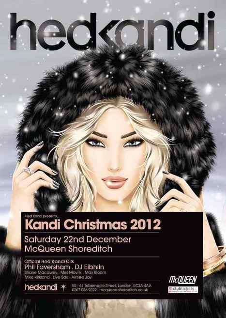 Hed Kandi Xmas Party venue announced as McQueen Shoreditch   AltSounds.com News   Wedding Venue India   Scoop.it