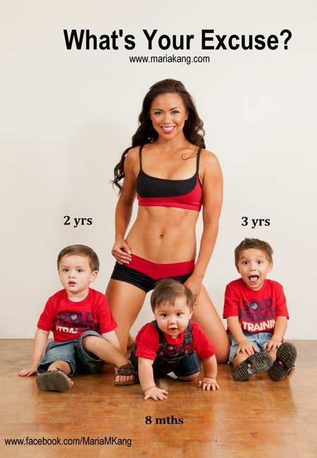 Here's to hot Filipina mom, Maria Kang. #noexcuses #makeithappen | Innovative Woman | Scoop.it