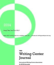 The Writing Center Journal 33.2 | International Literacy Management | Scoop.it