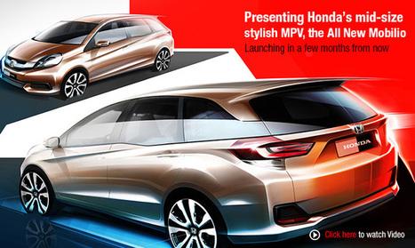 Welcome : Honda Mobilio MPV India   Honda Mobilio India   Scoop.it
