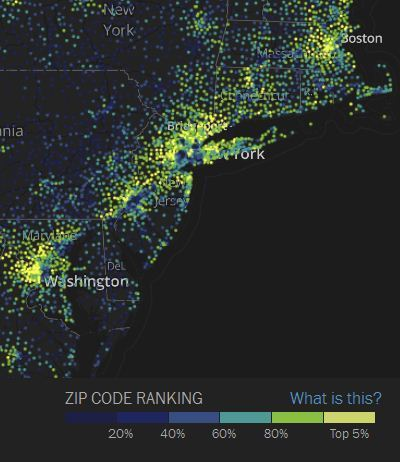Concentrations of Wealth and Poverty | Human Geography Too | Scoop.it