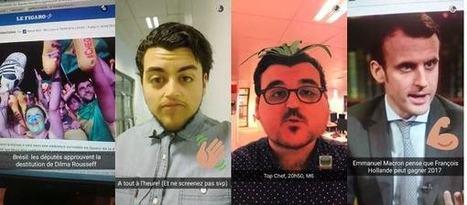Snapchat, nouveau terrain de jeu et d'expérimentations des médias français | CommunityManagementActus | Scoop.it