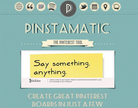 20+ Awesome Pinterest Resources for Bloggers and Marketers | Public Relations & Social Media Insight | Scoop.it
