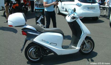 Ca roule à Paris pour le scooter électrique Artelec 670 | Planete DDurable | Scoop.it