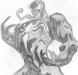 Dibujando a Venom | Aprendizaje Y Apoyo Escolar fuera del Aula | Scoop.it
